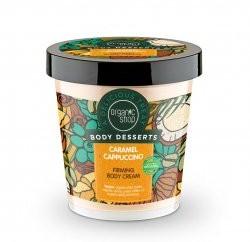 Organic Shop ujędrniający krem do ciała Karmelowe Cappuccino 450ml