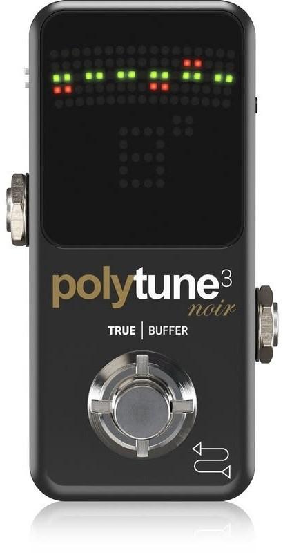 TC ELECTRONIC PolyTune 3 Noir - tuner polifoniczny