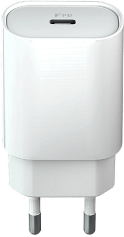 Forever Ładowarka sieciowa 1x Type-C PD (18W) biała