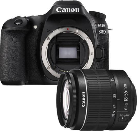 Opinie o Canon EOS 80D + 18-55 DC III czarny