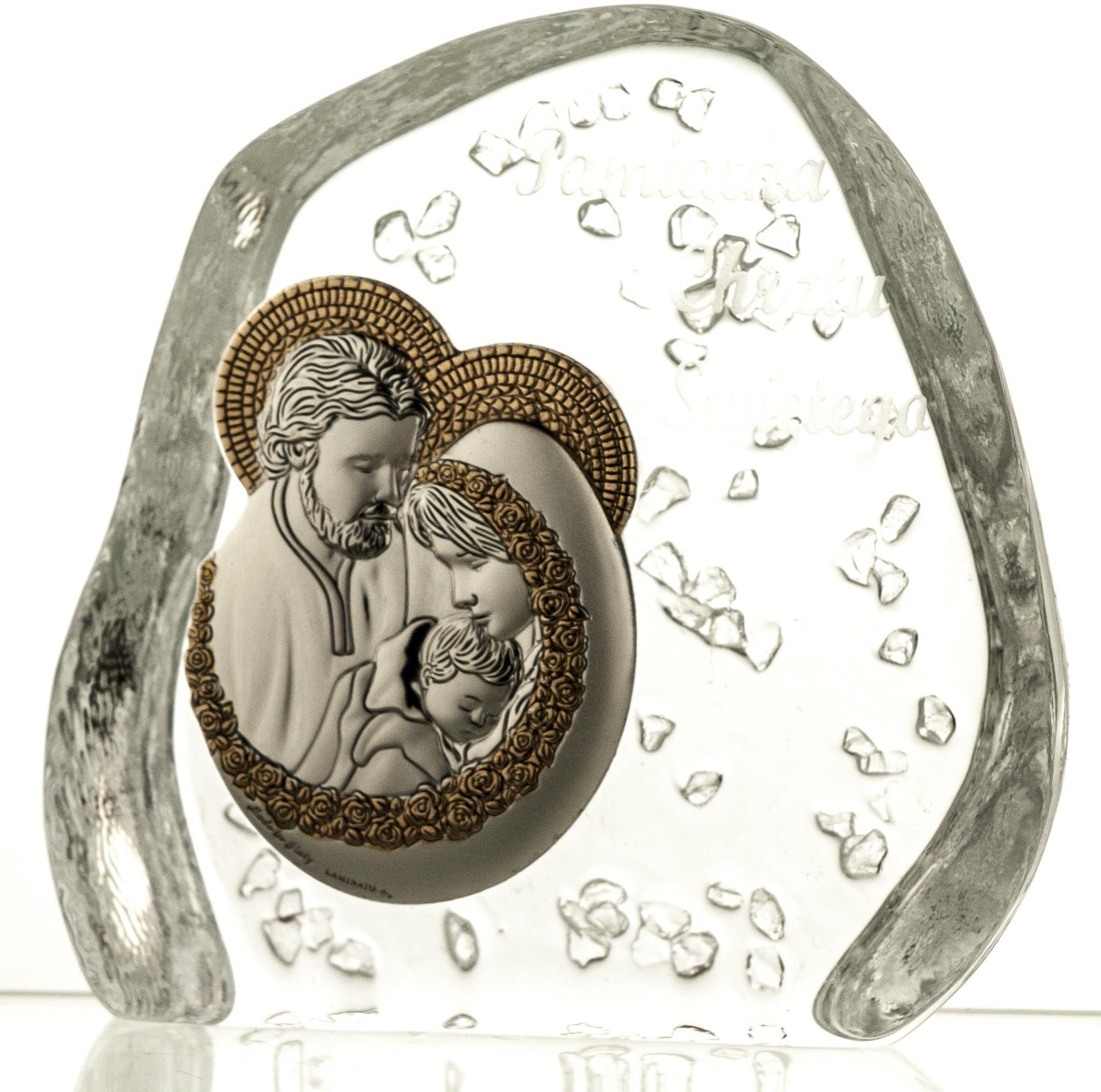 Crystal Julia Skałka kryształowa Święta Rodzina 03833)
