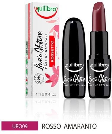 EQUILIBRA EQUILIBRA_Loves Nature Lipstick pomadka do ust Red Amaranth 4ml