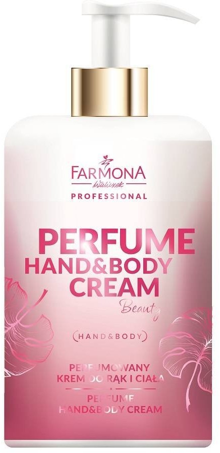 Farmona Professional Farmona Perfume Hand&Body Cream Beauty - Perfumowany Krem Do Rąk i Ciała 300ml PER0002