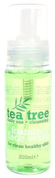 Tea Tree Foaming Face Wash Pianka oczyszczająca do mycia twarzy z wyciągiem z drzewa herbacianego 200 ml TEATREEWASH