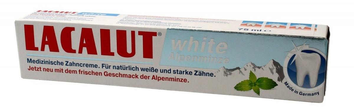 Natur Produkt LABOVITAL Pasta do zębów White Alpenminze 75ml