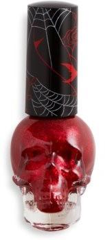 Makeup Revolution Skull lakier do paznokci odcień Bloodthirsty 12,5ml