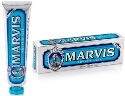 Marvis Pasta do zębów z ksylitolem Morska mięta - Aquatic Mint + Xylitol Pasta do zębów z ksylitolem Morska mięta - Aquatic Mint + Xylitol