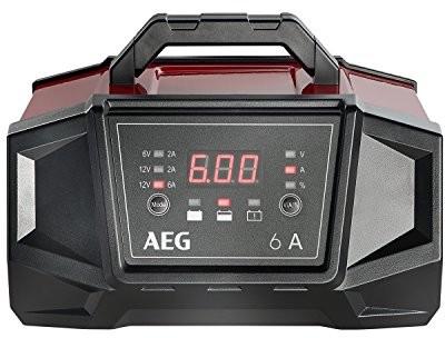 AEG Automotive 158007warsztacie-ładowarka WM 6A do 6A 12V baterie, z funkcją auto Start, CE, IP 20, 6A 158007