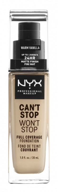 NYX Professional Makeup Professional Makeup - CAN'T STOP WON'T STOP - FULL COVERAGE FOUNDATION - Podkład do twarzy - CINNAMON NYXSSCI