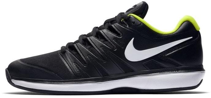 Męskie buty do gry w tenisa na kortach ziemnych NikeCourt Air Zoom Prestige Czerń