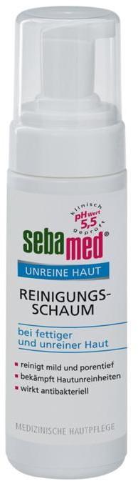 Sebamed Sebamed Clear Face Antibacterial Cleansing Foam oczyszczająca pianka do twarzy 150ml