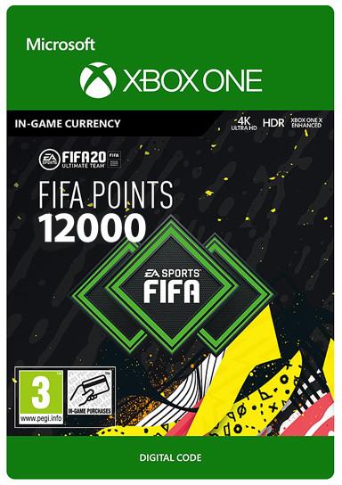 FIFA 20 Ultimate Team 12000 punktów (GRA XBOX ONE) wersja cyfrowa