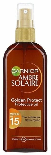 Garnier Garnier Ambre Solaire UV SPF15 Golden Protect Oil Olejek ochronny do opalania 150ml 43254-uniw