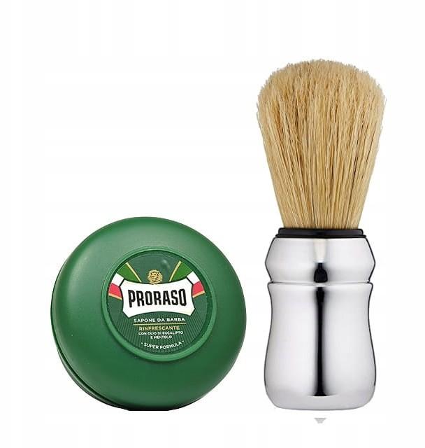 Proraso zestaw do golenia: pędzelek + mydło 150ml