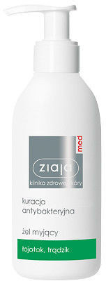 Ziaja Med Kuracja antybakteryjna żel myjący 200 ml ZIAJAMEDZELKA