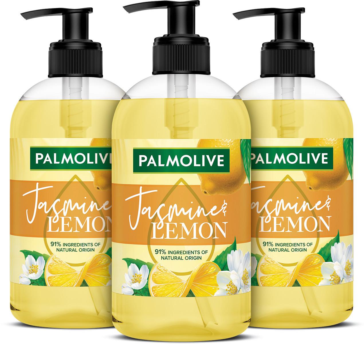 Palmolive mydło w płynie Jasmine&lemon 3x500ml