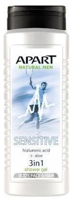 Apart NATURAL For Men żel pod prysznic dla mężczyzn Sensitive 500ml 81114-uniw