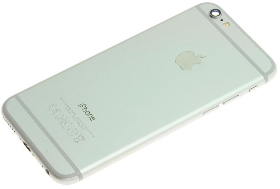 Apple Oryginalny Korpus Obudowa Klapka iPhone 6 GNIAZDO A1586 Silver NOWY 53773-uniw