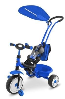 Milly Mally    Boby Deluxe z podnóżkiem niebieski
