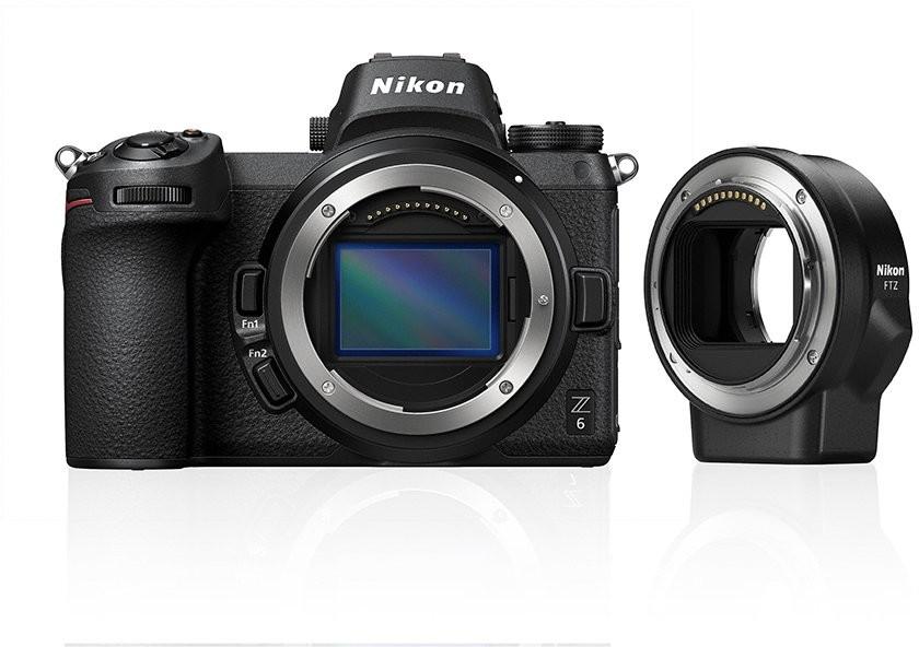 Nikon Z6 + adapter FTZ (VOA020K002)
