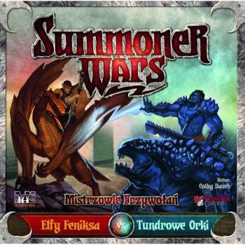 Cube Factory of Ideas Summoner Wars: Elfy Feniksa vs Tundrowe Orki