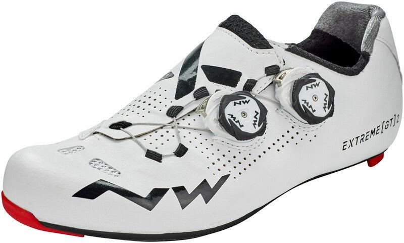 Northwave Extreme GT 2 Buty Mężczyźni, white EU 43,5 2020 Buty szosowe zatrzaskowe 80201020-50-43,5