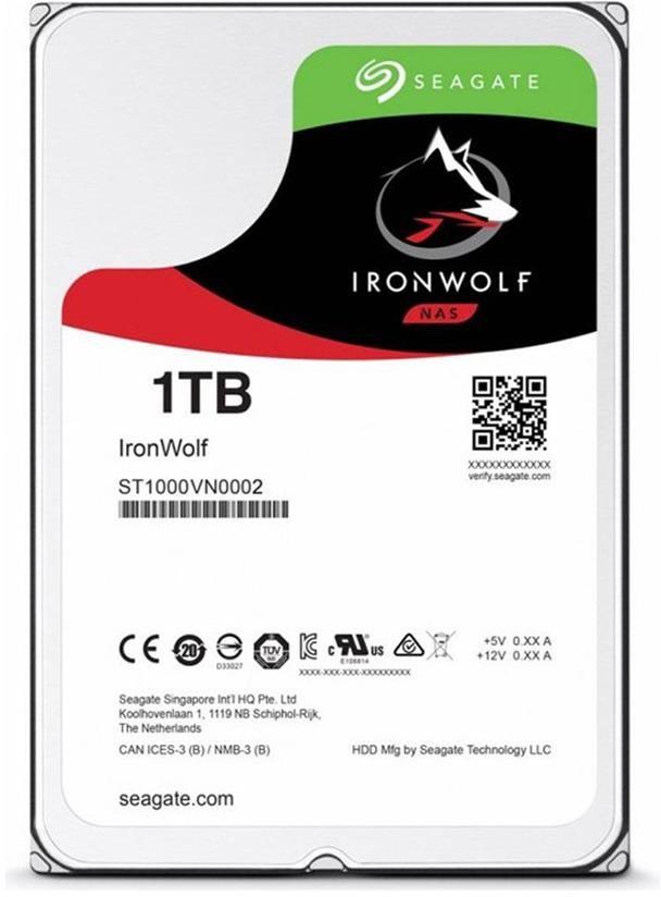 Seagate IronWolf 1TB (ST1000VN002)