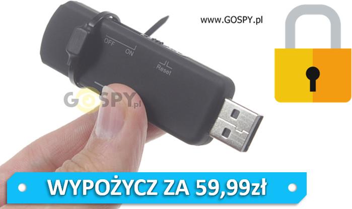 gospy.pl Dyktafon pendrive VOS 4GB z blokadą odczytu danych G-10542919