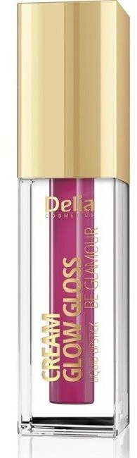 Delia Be Glamour Cream Glow Gloss liquid lipstick Płynna pomadka do ust 506 5g 48250-uniw