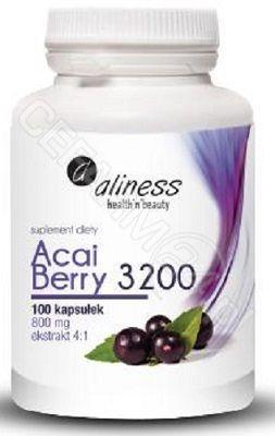 Aliness Acai Berry 3200 - 100kaps