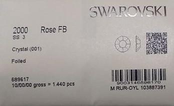 Swarovski Cyrkonie SS3 1440 sztuk 1