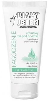 Pollena Hipoalergiczny żel pod prysznic do skóry wrażliwej - Hypoallergenic Creamy Shower Gel Hipoalergiczny żel pod prysznic do skóry wrażliwej - Hypoallergenic Creamy Shower Gel
