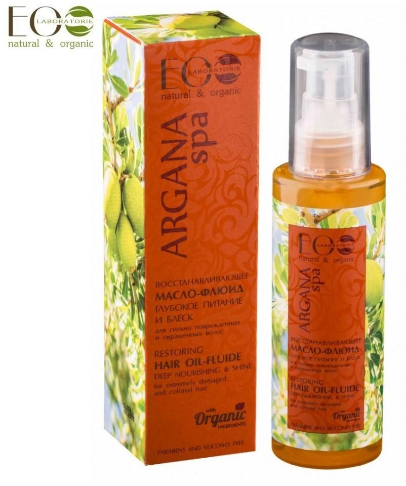 Ecolab olej-fluid do włosów argan (włosy farbowane i zniszczone) ECA8