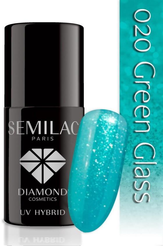 Semilac Lakier Hybrydowy Semilac 020 Green Glass - 7 Ml 4734