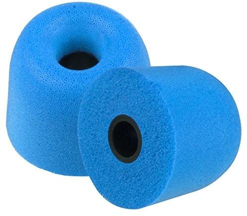 Xcessor xcessor do pianka komfort Earbuds dużym, 40, niebieski CG00560