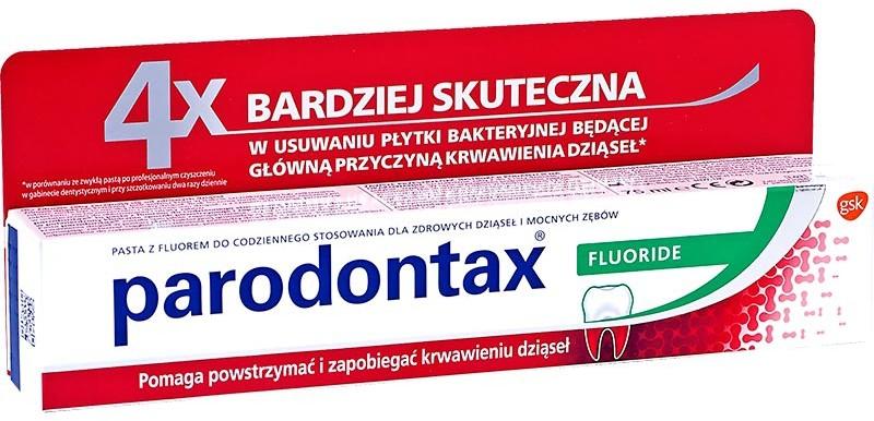 GlaxoSmithKline 75ml lecznicza pasta do zębów fluoride