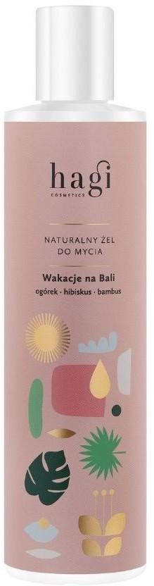 Hagi Hagi, Naturalny żel do mycia ciała, Wakacje na Bali, 300 ml HAG08685