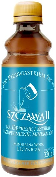 Polskie Wody Lecznicze Woda mineralna lecznicza Szczawa II naturalnie gazowana 330 ml Polska