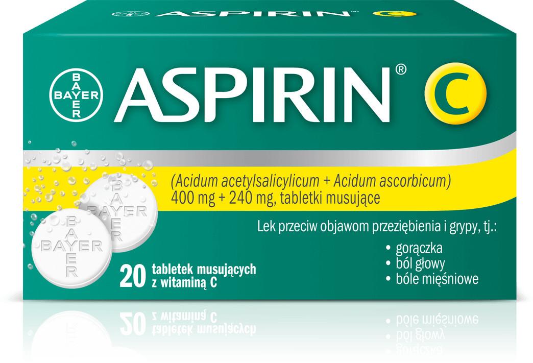 Bayer Aspirin C 20 szt.