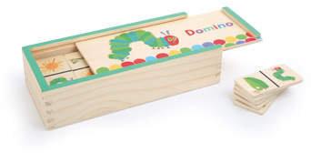 Small Foot Design gra logiczna Domino Bardzo Głodna Gąsienica