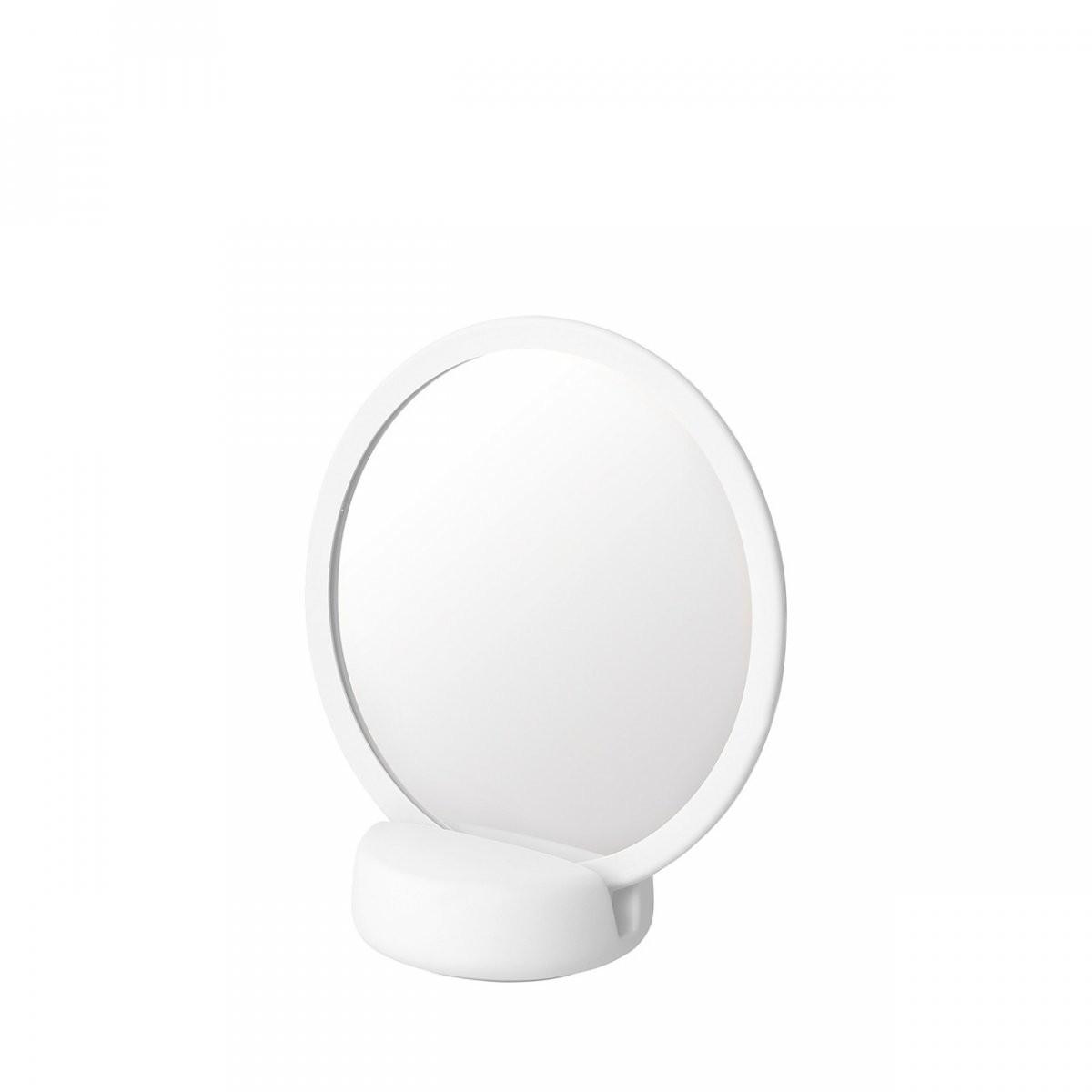 Blomus SONO Lusterko Powiększające - Białe 66279