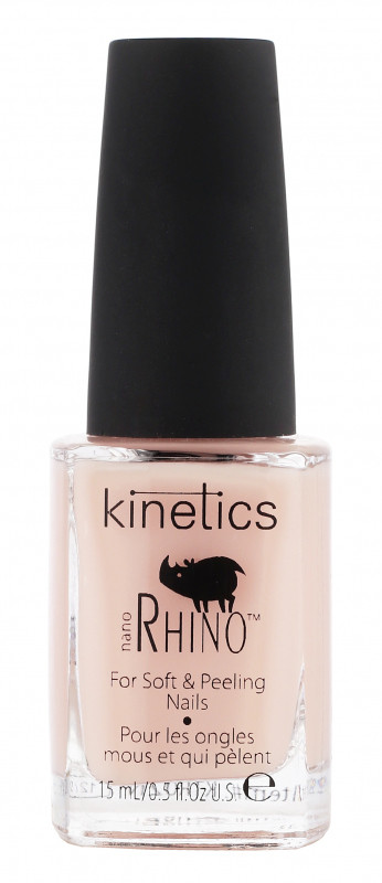 Kinetics Kinetics - NANO RHINO - For Soft & Peeling Nails - Wzmacniająca odżywka do miękkich i osłabionych paznokci KINOMOPA