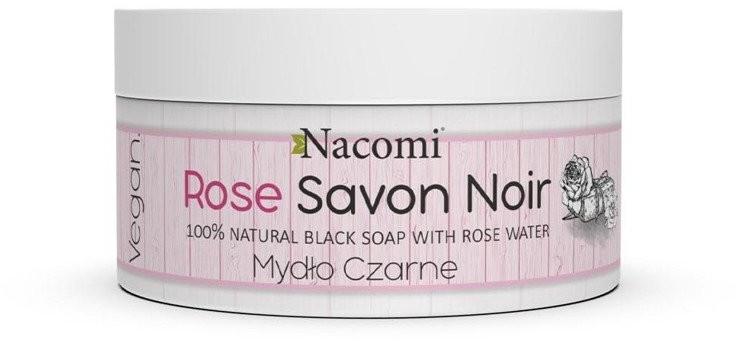 Nacomi Mydło Czarne ROSE 100% naturalne 125g 47808-uniw
