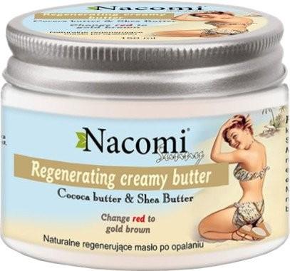 Nacomi Naturalne regenerujące masło po opalaniu - Sunny Regenerating Creamy Butter Naturalne regenerujące masło po opalaniu - Sunny Regenerating Creamy Butter