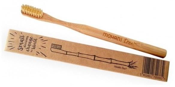 MOHANI MOHANI Bambusowa szczoteczka do zębów Medium 83034-uniw