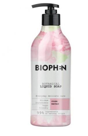 BIOpha Organic Mydło w płynie Biophen Botanical 400 ml Rose Butelka z pompką | DARMOWA DOSTAWA OD 59 zł NN-KBI-I400-001