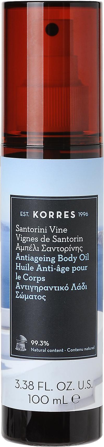 Korres Santorini Vine Dry Body Oil Suchy olejek do ciała o zapachu kwiatu winorośli 100ml