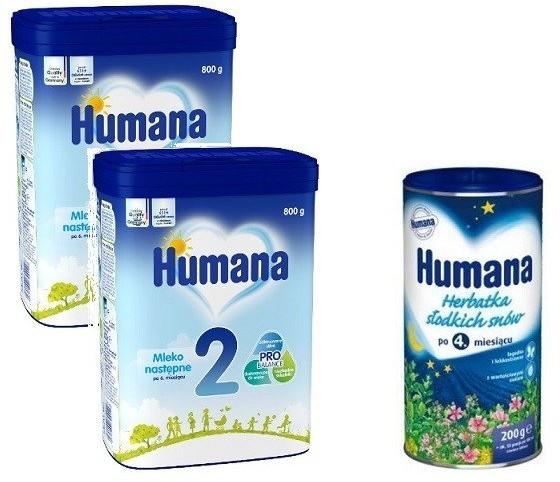 Humana 2x 2 800 g