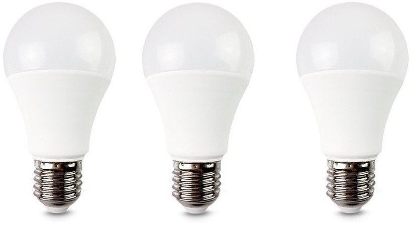 Solight ZESTAW 3x LED Żarówka E27/10W/230V