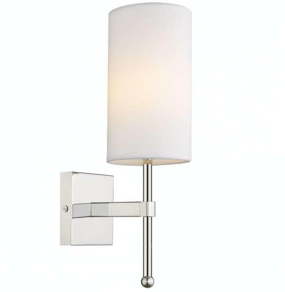 EVO Kinkiet LAMPA ścienna EVO W01987WH NI abażurowa OPRAWA tuba biała EVO W01987WH NI